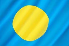 Flag of Palau Stock Images