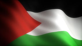 Flag of Palestine stock illustration