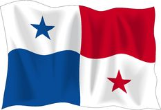 Flag of Panama Stock Photos