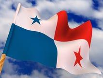 Flag. Panama Royalty Free Stock Images
