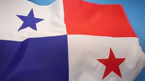 Flag of Panama stock illustration
