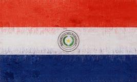 Flag of Paraguay Grunge. Stock Photos