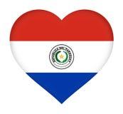 Flag of Paraguay Stock Photos