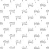 Flag pattern seamless. Black for any design Royalty Free Stock Image