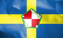 Flag of Pembrokeshire, Wales. Stock Image