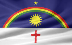 Flag of Pernambuco Royalty Free Stock Images
