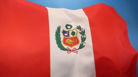 Flag of Peru - South America Royalty Free Stock Photos