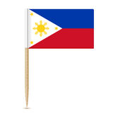 Flag of the Philippines. Flag toothpick 10eps Stock Images