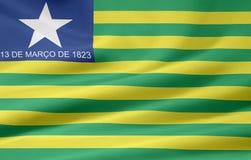 Flag of Piaui Stock Image