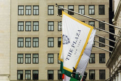 Flag of The Plaza hotel Royalty Free Stock Images