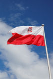 Flag of Poland Stock Image