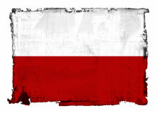 Flag of Poland Stock Images