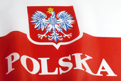 Flag of Poland Royalty Free Stock Photo