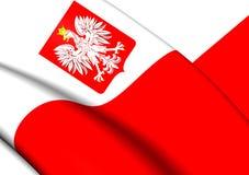 Flag of Poland Royalty Free Stock Photos