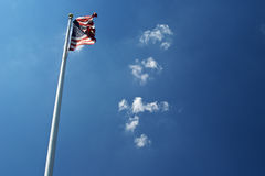 Flag pole Stock Image
