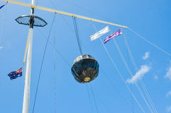 Flag Pole: The Round House in Fremantle Royalty Free Stock Photography