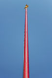 Flag pole Stock Photo