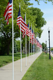 Flag Poles Royalty Free Stock Photos