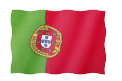 Flag Of Portugal stock images