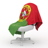 Flag of Portugal. Stock Photography