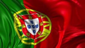 Flag of Portugal stock illustration