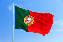 Flag Portugal Royalty Free Stock Photography