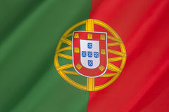 Flag of Portugal Stock Photos