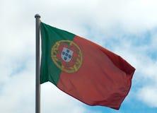 Portugese Flag Stock Photo