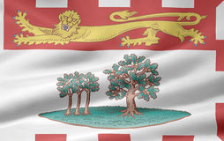 Flag of Prince Edward Island Royalty Free Stock Photography