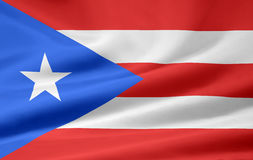 Flag of Puerto Rico Royalty Free Stock Photos