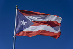 Flag of Puerto Rico Royalty Free Stock Photos