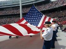 Flag Raising Ceremony royalty free stock photos