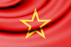 Flag of Red Army. Stock Image