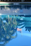 Flag Reflection Royalty Free Stock Photo