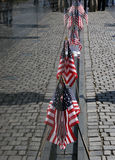 Flag Reflections Vietnam Wall Royalty Free Stock Image