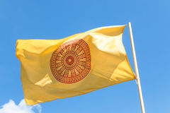 Flag of religion Royalty Free Stock Photography