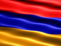 Flag of the Republic of Armenia Stock Images
