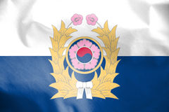 Flag of Republic of Korea Army. Stock Images
