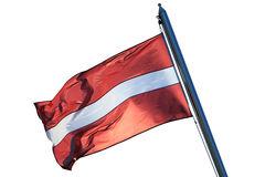 Flag of the Republic of Latvia Stock Photos