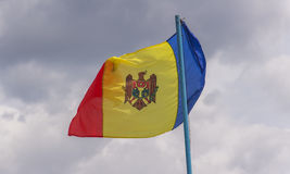 Flag of the Republic of Moldova Royalty Free Stock Images