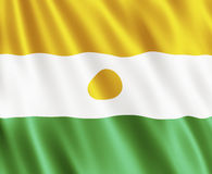 Flag Of The Republic of Niger Royalty Free Stock Image