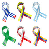Flag Ribbon Royalty Free Stock Images