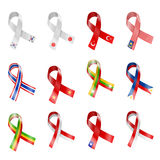 Flag Ribbon Stock Image