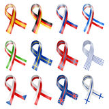 Flag Ribbon Stock Images
