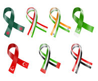 Flag Ribbon Royalty Free Stock Photography