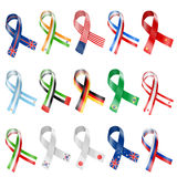 Flag Ribbon Royalty Free Stock Image
