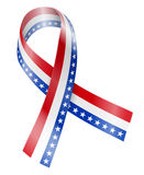 Flag Ribbon Stock Photography