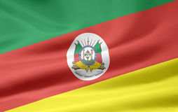 Flag of Rio Grande do Sul Stock Image