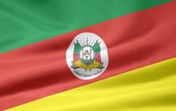 Flag of Rio Grande do Sul Stock Image