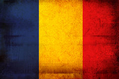 Flag of romania Royalty Free Stock Photos